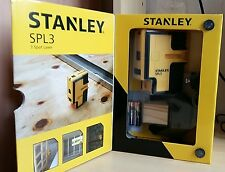 STANLEY ITEM NO. STHT77342 SPL3 3 BEAMS SELF-LEVELING SPOT LASER