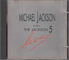 Michael Jackson With The Jackson 5 : Live RARE Austrian CD FASTPOST