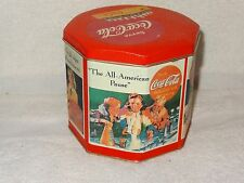Drink Coca-Cola The All American Pause- High Sign of Refreshment Tin- 1995