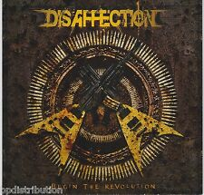 DISAFFECTION - BEGIN THE REVOLUTION (CD, 2010, Bombworks) Christian Thrash Metal