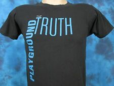 vintage 1985 THE TRUTH PLAYGROUND TOUR T-Shirt XS rock new wave concert thin 80s