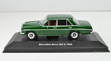 Mercedes-Benz 200 D Baujahr 1968 grün Maßstab 1:43 von Solido