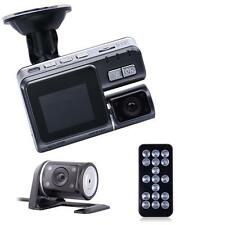 1080p DVR 170° Car Dash Cam Recorder LED Night Vision G-sensor+HD Rear Camera