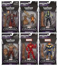 Marvel Legends Infinite Guardians of The Galaxy Build a Groot Set of 6 Fab Wow