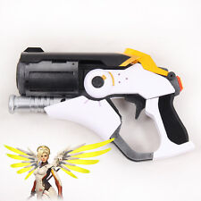 Overwatch OW Mercy Caduceus Blaster Gun Weapon PVC Cosplay Prop