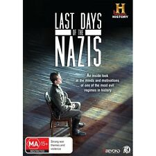 Last Days of the Nazis DVD History Channel Study of the most Evil Men of WW2