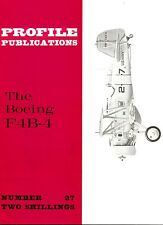 BOEING F4B-4: PROFILE #27/ WITH 8 NEWLY ADDED PAGES/ NEW-PRINT FACSIMILE ED