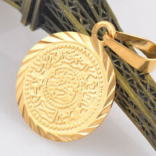 Special Gold Filled Exquisite Coin Cut Stunning Vogue Pendant Sublimate
