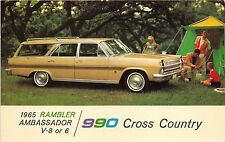 Advertising Automobile Car 1965 Rambler Ambassador 990 Cross Country Chrome PC
