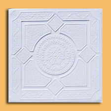 40 pc Antique Ceiling Tile - 20x20 LIMA White Tin-Look Easy Instalation