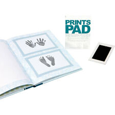 C.R. Gibson Baby Non-Toxic Mess-Free Handprint & Footprint Pad Kit Set of 2