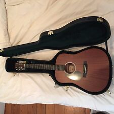 Martin Road 2016 DRS1 Dreadnought Left-Handed Acoustic-Electric Guitar W/ CASE