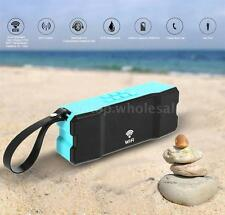 Portable 10W Waterproof Smart WiFi Bluetooth Stereo Bass Speaker Streaming Music