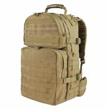 CONDOR 129 003 MOLLE Medium Assault Back Pack Nylon Backpack -  TAN