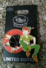 Rare New Disney Peter Pan Trading Pin Limited Edition Wendy