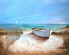 Ruane Manning: Ocean Breeze Fertig-Bild 55x70 Wandbild Strand Meer