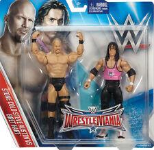 WWE WWF MATTEL WRESTLEMANIA 32 BATTLE PACK STONE COLD STEVE AUSTIN & BRET HART