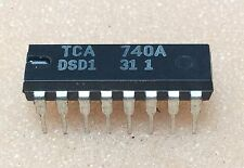 1 pc. TCA740A  Treble and Bass Stereo Control   DIP16  NOS