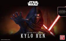Kylo Ren Modellbausatz 1:12 von Bandai, Star Wars Episode VII, neu & OVP