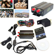 RealTime GSM/GPS/GPRS Car Tracker Vehicle GPS103A TK103A Alarm System/With box