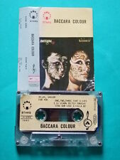 ►►Rare Japan cassette Baccara Colour tape mc 1980