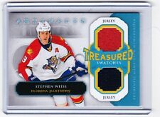 13-14 2013-14 ARTIFACTS STEPHEN WEISS TREASURED SWATCHES JERSEY TS-SW PANTHERS