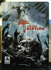 NO GIOCO DEAD ISLAND RIPTIDE  LIMITED STEELBOOK STEELBOX CUSTODIA IN METALLO