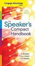 SPEAKER?S COMPACT HANDBOOK - NEW PAPERBACK BOOK