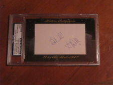 Albert Belle 2012 Historic Autographs Why The Hall Not?  Card PSA Certified