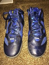 Nike Zoom Hyperfuse Men's US Sz.8 Blue Premium Innovation Basketball Shoes