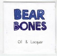 (GL101) Bear Bones, Oil & Lacquer - 2009 DJ CD