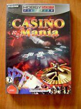 Logiciel Jeux Casino Mania black-jack roulette machines à sous  /D29