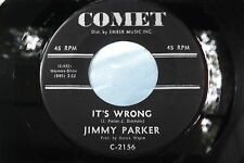 HEAR Rare R & B Bopper ~ Jimmy Parker ~ It's Wrong  ~ Number One In Your Heart