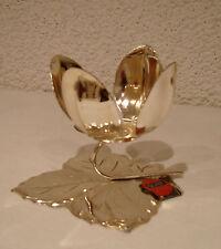 Tischkerzenständer/  Teelichthalter / versilbert spülmaschinenfest,/ Quist