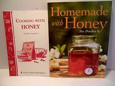 LOT Homemade AND Cooking With Honey Cookbook Recipes How To Substitute Natural