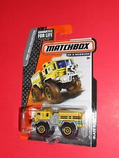 MATCHBOX BLAZE BLASTER MBX 2014 (YELLOW)COLLECTION SHIPS FREE