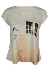 Window to your heart print crop top shirt womens ladies crop tshirt visit shop
