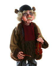 OLD VIOLINIST - original marionette,24 inches tall, handmade from CZECH REPUBLIC