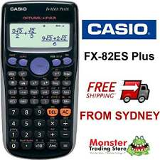 AUSSIE SELLER CASIO SCIENTIFIC CALCULATOR FX-82ES PLUS FX82  FX-82 FX82ESPLUS