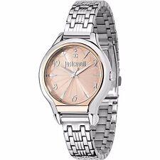 Orologio Watch Just Cavalli Donna Uhr Fusion Acciaio Rosa Numeri R7253533502 New
