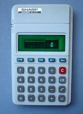 Vintage Sharp ELSIMATE EL-210 Calculator - Free Domestic Shipping!