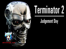 Movie Terminator T-800 Head 1/1 Figure Vinyl Model Kit  11inch