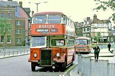 Barton, Chilwell 787 XVO787 Nottingham Bus Photo Ref P205