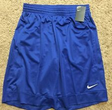 NWT Nike Basketball Shorts 641421-687 Mens Blue Fastbreak Shorts XL MSRP $30