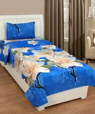 Homefab India 3D Single Bed-Sheet with 1 Pillow Cover (Single165)
