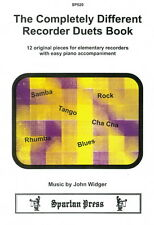 Widger: The Completely Different Recorder Duets Book SP520