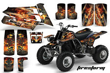 AMR Racing Yamaha Banshee 350 Decal Graphic Kit ATV Quad Wrap  87-05 FIRESTORM K
