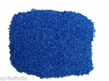 Hi fish aquarium water Blue color sand gravel 3kg stone pebbles chips decoration