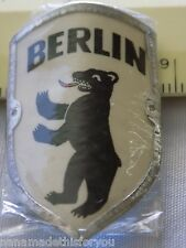 "Vintage Berlin Stocknagel Souvenir Hiking Stick Medallion 1 1/2"" x 1"" Pkg  #1"