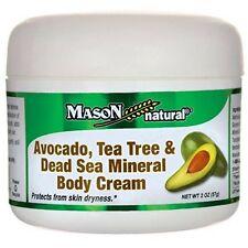 Mason Natural Avocado, Tea Tree - Dead Sea Mineral Body Cream 2 oz